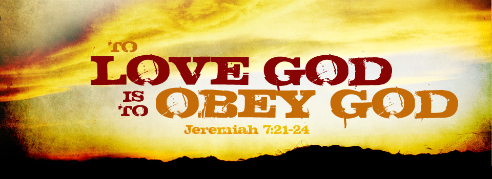 Obeying the Commands of Jesus: Coming to God
